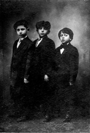 Leo, David and Jacob Rube